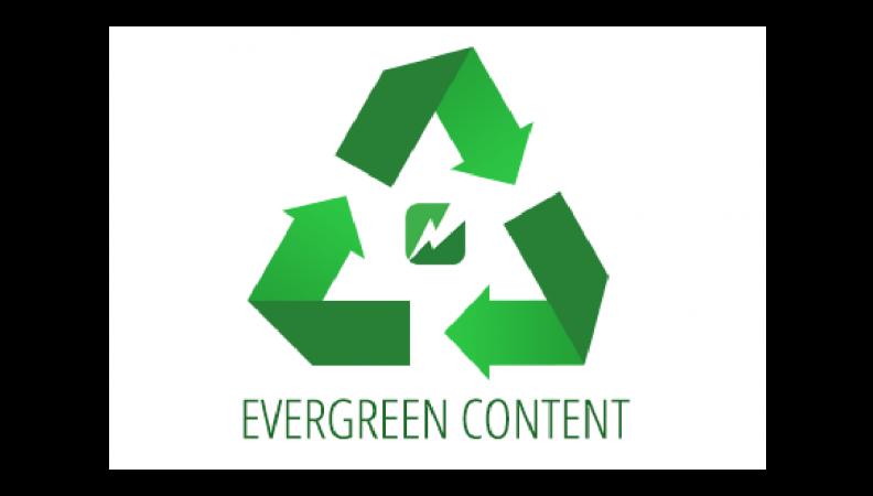 محتواها ی EverGreen در و ب سایت خود داشته باشید