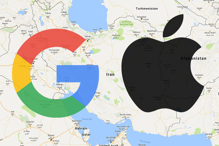 آموزش گوگل مپ: راهنمای نسخه iOS نقشه گوگل