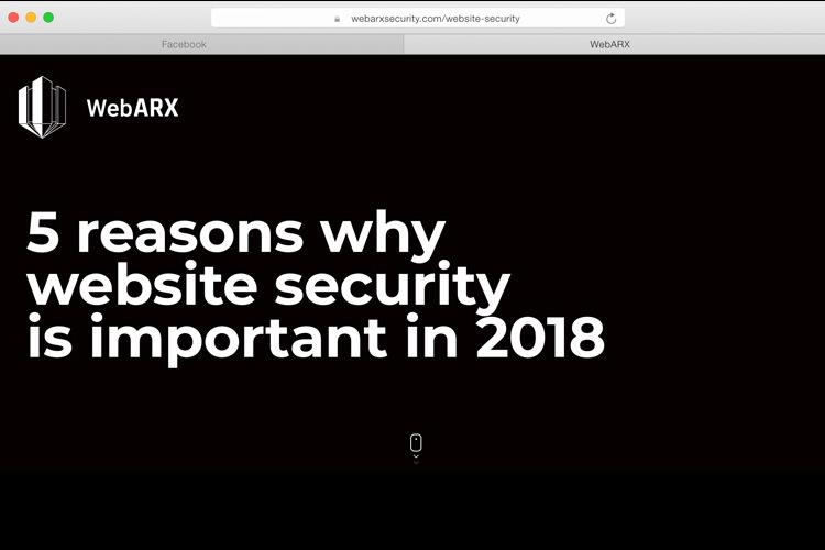 اینفوگرافیک: ۵ دلیل اهمیت امنیت در وبسایتها در سال ۲۰۱۸