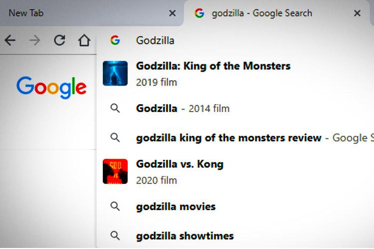 چگونه تصاویر را از نتایج جستجوی خود در نوار آدرس گوگل کروم حذف کنیم؟