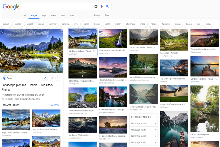 چگونه ظاهر نتایج جستوجوی تصاویر گوگل را به حالت قبل بازگردانیم؟
